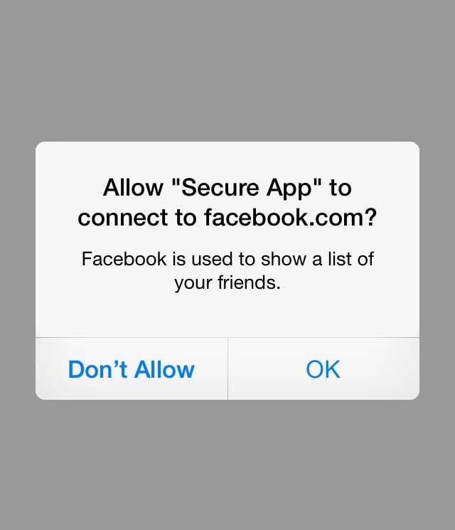 iOS Apps Should Request Permission for Network Access